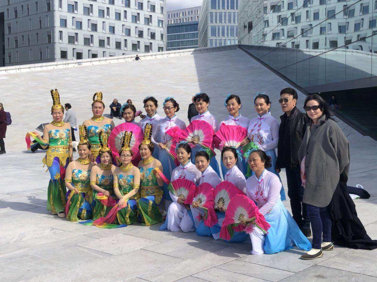 挪威中文学校参加Dansens Dager活动